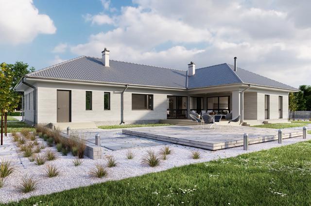 projekt domu Andora