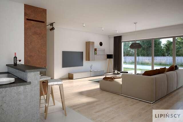 Zobacz powiększenie wizualizacji wnętrza - projekt Verona