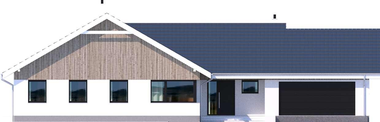 Elewacja frontowa - projekt Noordwijk