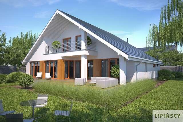 Zobacz powiększenie wizualizacji ogrodowej - projekt Lagos V