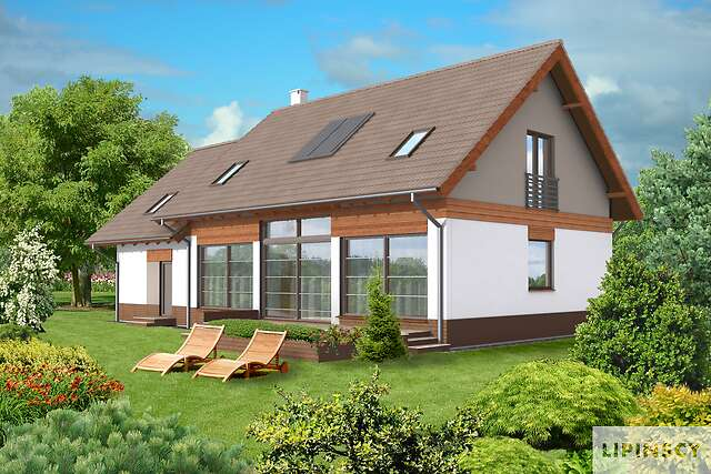 Zobacz powiększenie wizualizacji ogrodowej - projekt Berlin III