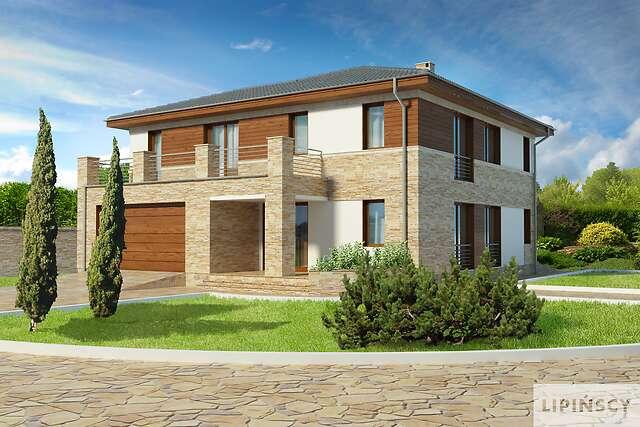 Zobacz powiększenie wizualizacji frontowej - projekt Siena