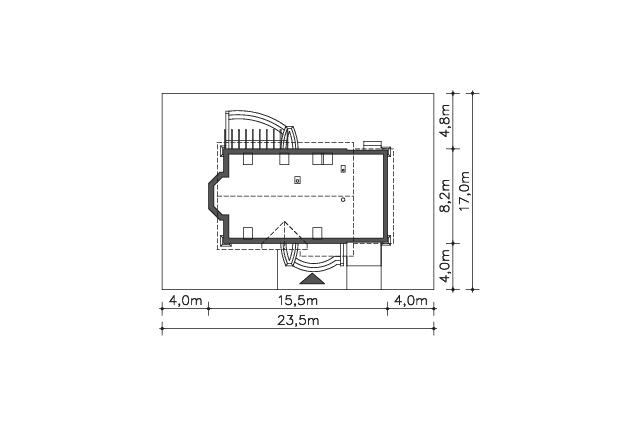 Zobacz powiększenie działki - projekt Tacoma IV