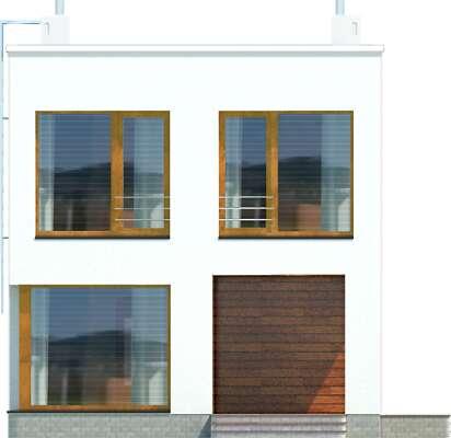Elewacja frontowa - projekt Tottori