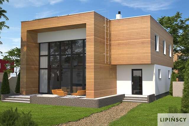 Zobacz powiększenie wizualizacji ogrodowej - projekt Delft II