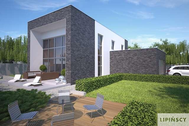 Zobacz powiększenie wizualizacji ogrodowej - projekt Delft IV