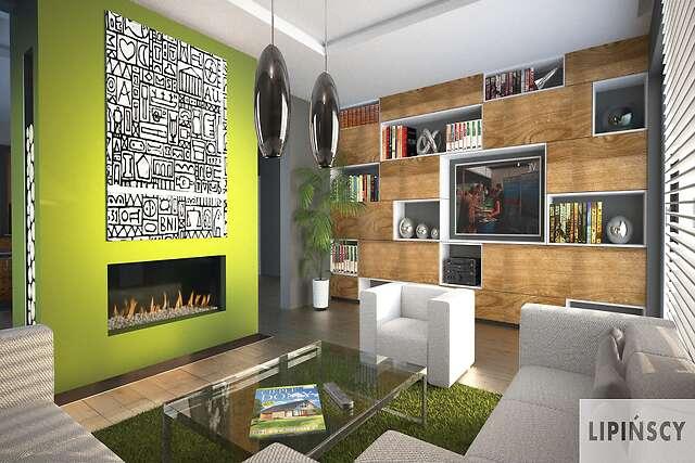 Zobacz powiększenie wizualizacji wnętrza - projekt Triest