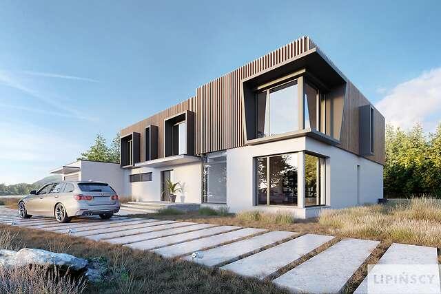 Zobacz powiększenie wizualizacji frontowej - projekt Annecy