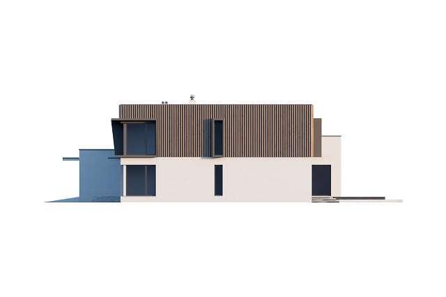Zobacz powiększenie elewacji bocznej prawej - projekt Annecy