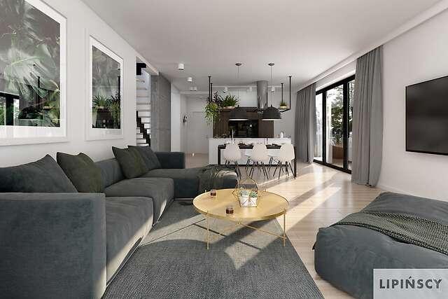 Zobacz powiększenie wizualizacji wnętrza - projekt Tanger