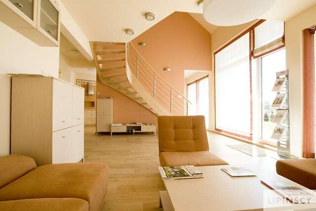 Zobacz powiększenie wizualizacji wnętrza - projekt Darmstadt Pasywny 1