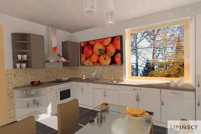 Zobacz powiększenie wizualizacji wnętrza - projekt Bristol