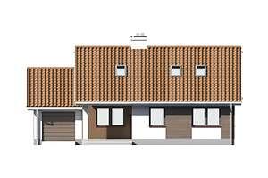 Elewacja frontowa - projekt Dortmund III