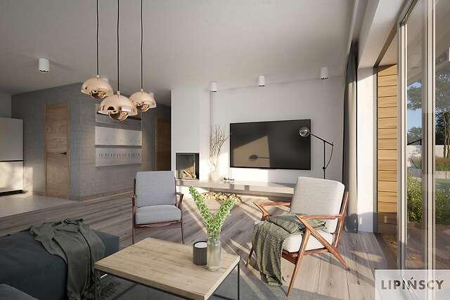 Zobacz powiększenie wizualizacji wnętrza - projekt Nikozja III
