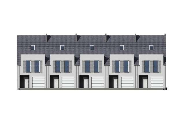 Zobacz powiększenie elewacji frontowej - projekt Miltown II